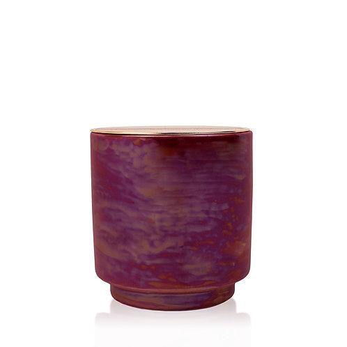 CRANBERRY ROSE Большая свеча в керамической баночке