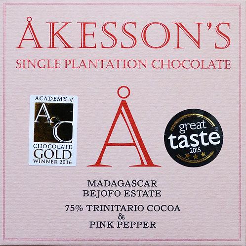 75% какао Тринитарио с розовым перцем