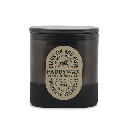 BLACK FIG & OLIVE, Большая свеча в стекле с 2 фитилями