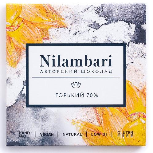 Шоколад Nilambari горький 70%