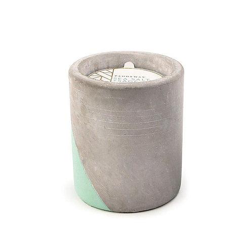 SEA SALT + SAGE, круглая свеча в бетоне