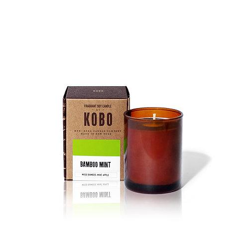 BAMBOO MINT, Компактные свечи в стекле