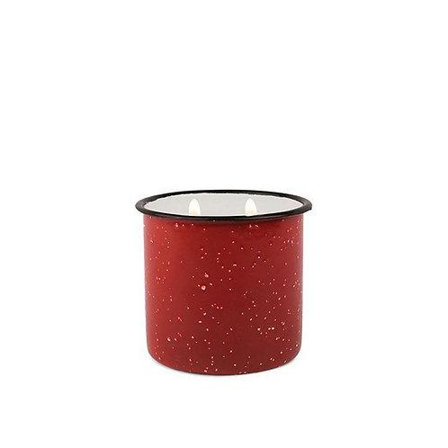 POMEGRANATE SPRUCE, большая свеча в металлической банке