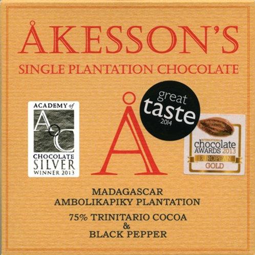75% какао Тринитарио с черным перцем