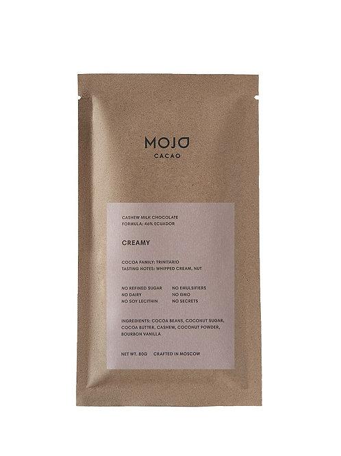 Creamy. Молочный шоколад Mojo cacao 46% (Эквадор)