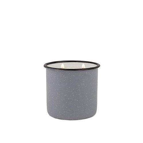 LEATHER and OAK, большая свеча в металлической банке