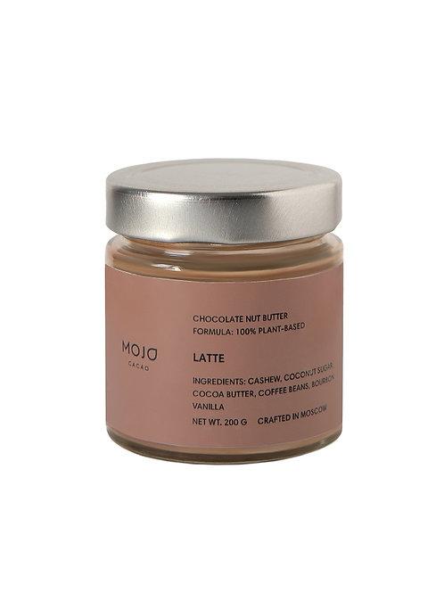 Chocolate nut butter Latte