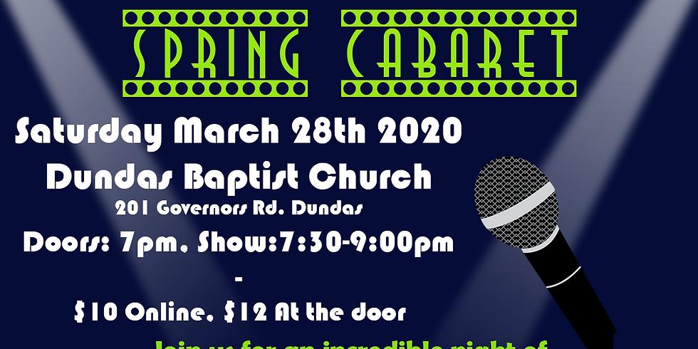 Connect Theatre's Spring Cabaret