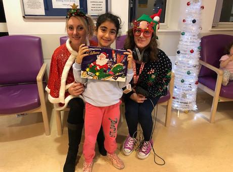 Christmas at Broomfield Hospital