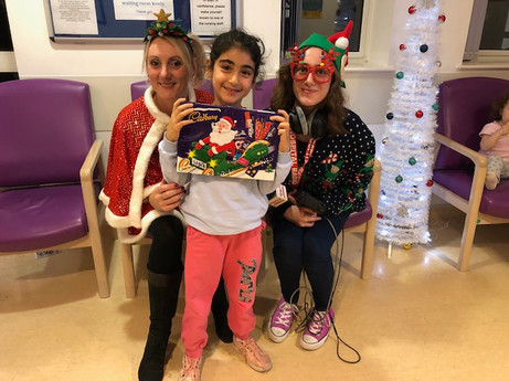 Christmas at Broomfield Hospital