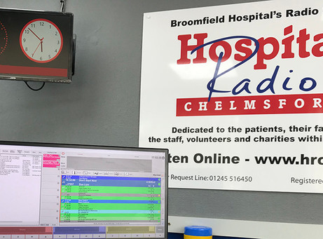 Hospital Radio Chelmsford continues broadcasting during lockdown
