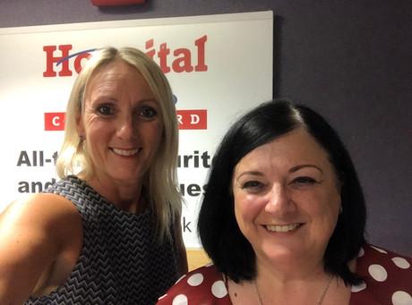 Nicki Kelland interviewed on Hospital Radio Chelmsford