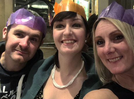Roving Eye discovers Hospital Radio Chelmsford members enjoying the festive season