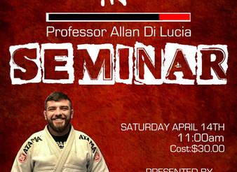 Prof. Allan Di Lucia BJJ Seminar
