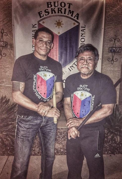 Manong GM Sam Buot & George Bell of Buot