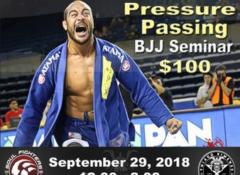Bernardo Faria Pressure Passing Seminar