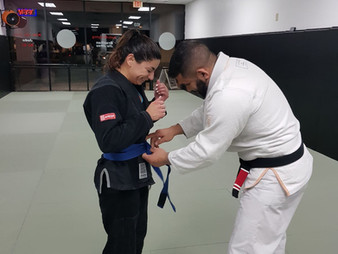 Congratulations Zen Ruiz, earning your blue belt!