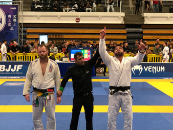 Soul Fighters Scottsdale earning GOLD at IBJJF LA International Open