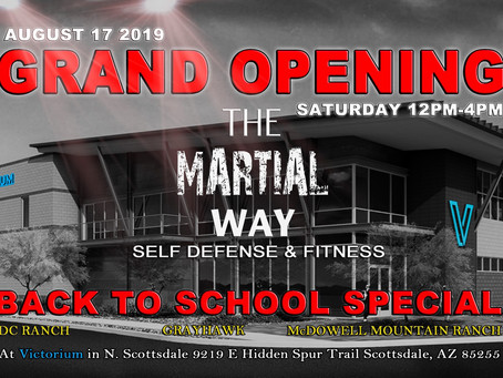 Back To School - Grand Opening Event!!!
