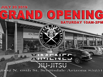 JOIN US FOR OUR GRAND OPENING