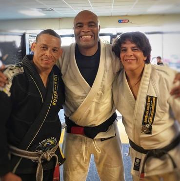Anderson Silva & Israel Gomes