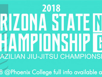 Arizona State BJJ NoGi Championships