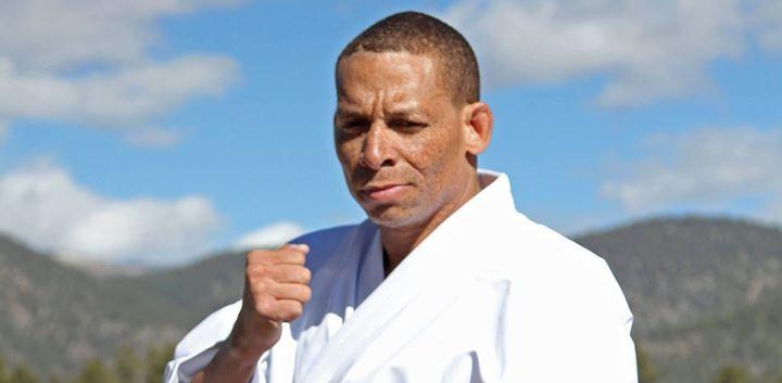 George Bell, sporting a new Kyokushin Gi