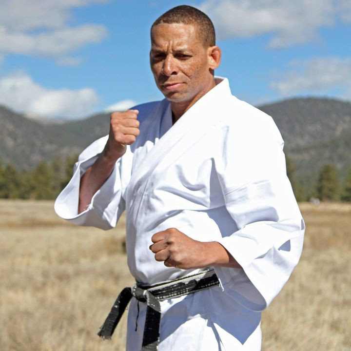 George Bell, sporting a new Kyokushin Gi