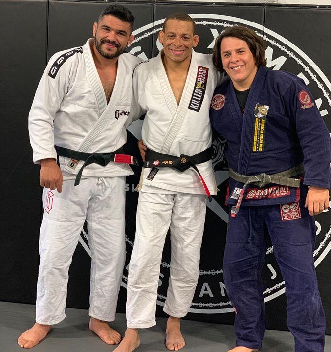 March 2 black belt, Israel and Thiago