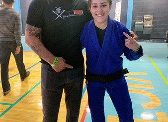 Congratulations Shasta on her win @ F2W99 and her Brown Belt Promotion!