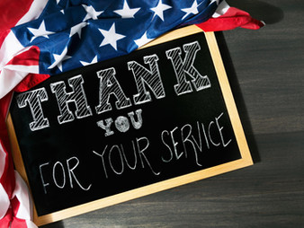 Thank you on Veteran's Day and Class Schedule.