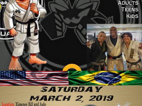 Scottsdale BJJ Seminar, hosting Israel Gomes of American Killer Bees