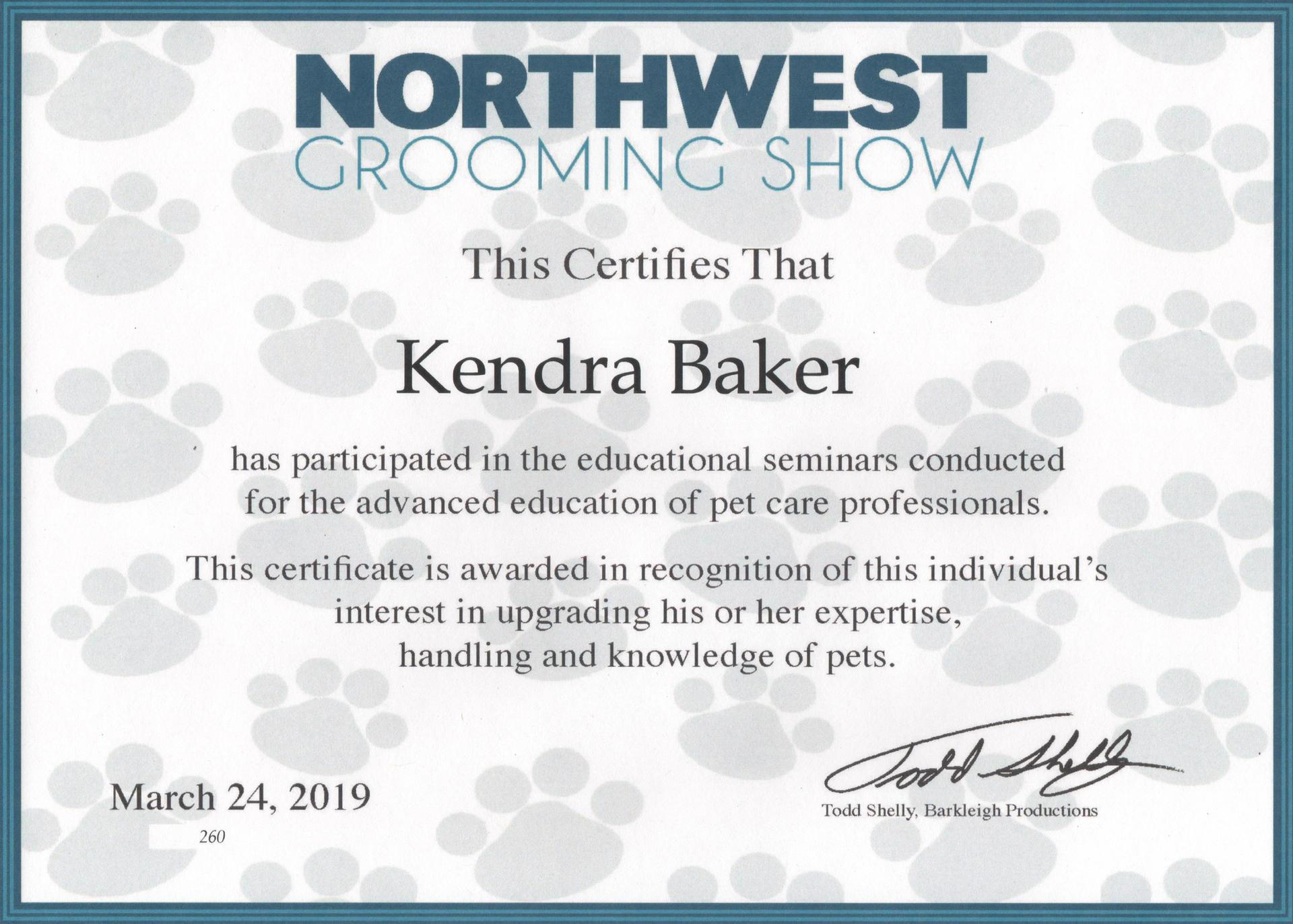 Northwest Grooming Show 2019