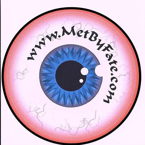 """Eye of Fate"" Eyeball Sticker"