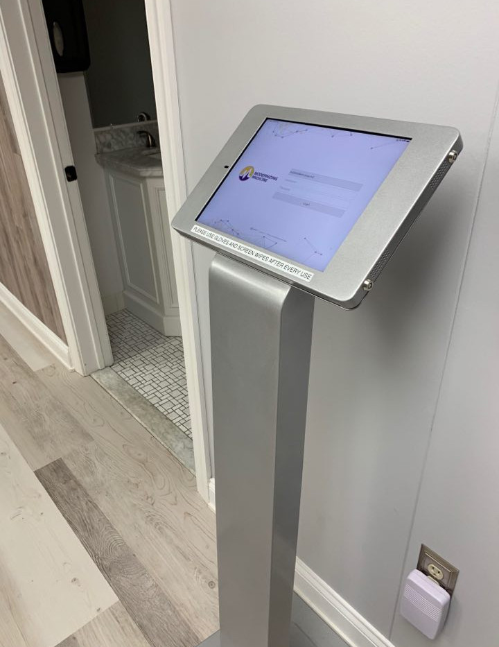Kiosk for Patients
