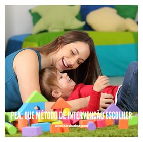 Perturbação do Espetro do Autismo, que método de intervenção é mais adequado?