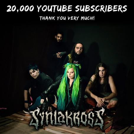 ¡20.000 suscriptores de YouTube!