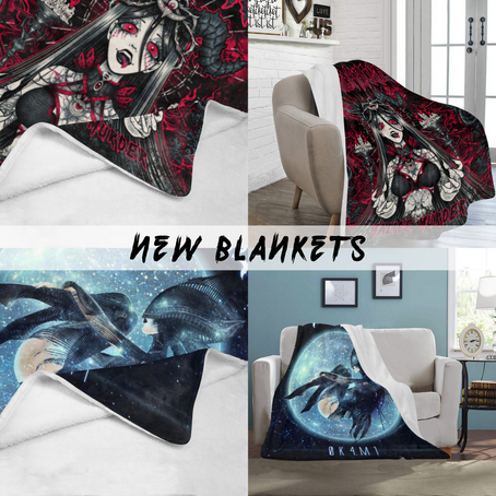 NEW BLANKETS IN OUR WEBSTORE