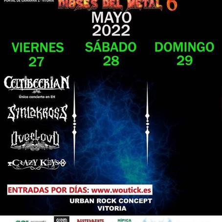 """Viernes 27 de Mayo estaremos en el  """"Dioses del Metal Fest"""""""