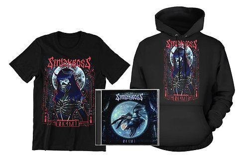 Bundle CD + Space Soldier T-shirt + Hoodie