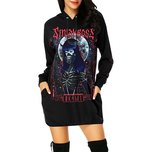 Space Soldier Hoodie Mini Dress *FREE SHIPPING