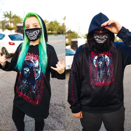 Feel badass with our new merch!