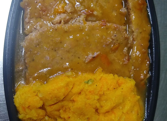 Pain de viande au jambon à la québécoise