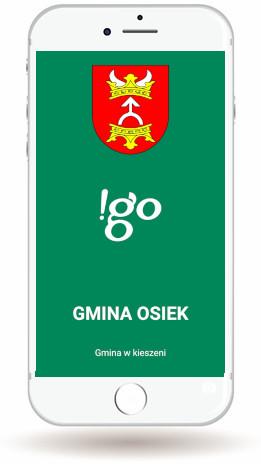Aplikacja Mobilna !go Gmina Osiek