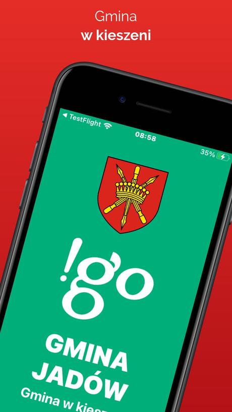 !go Gmina Jadów - Aplikacja mobilna