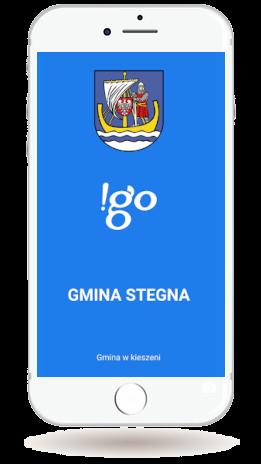 Aplikacja mobilna !go Gmina Stegna