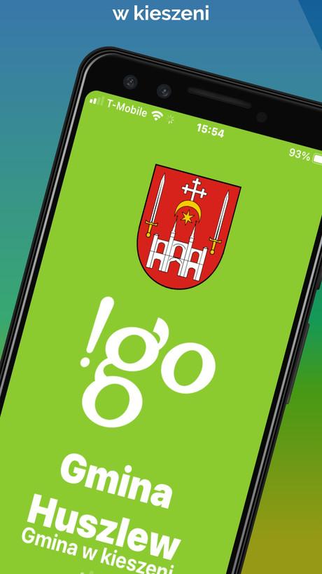 !go Gmina Huszlew - Aplikacja mobilna