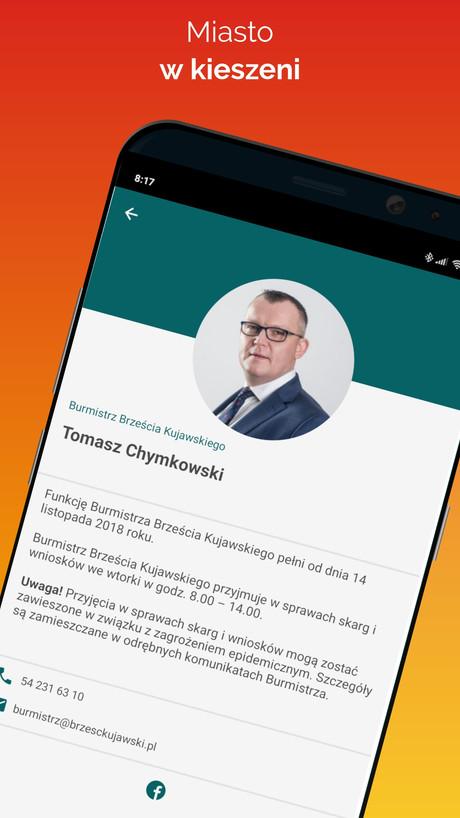 !go Brześć Kujawski  - kontakt z władzami miasta