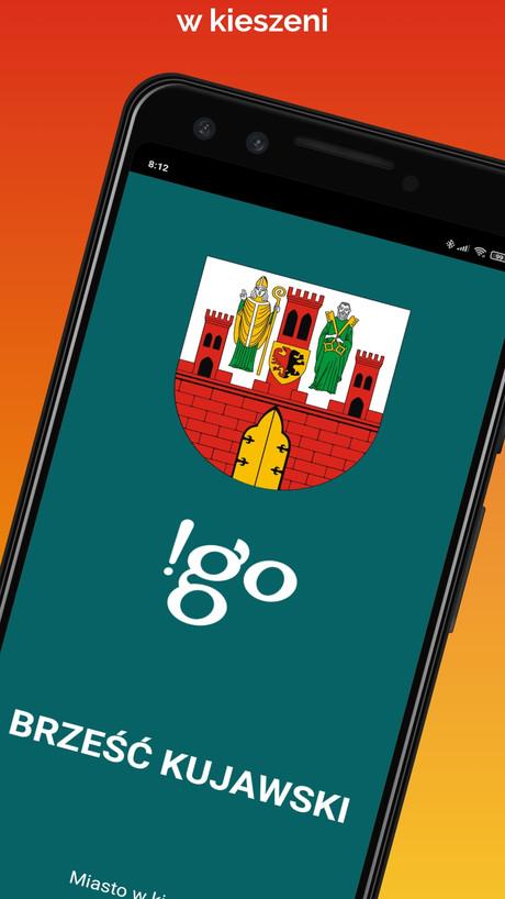 Aplikacja mobilna - !go Brześć Kujawski