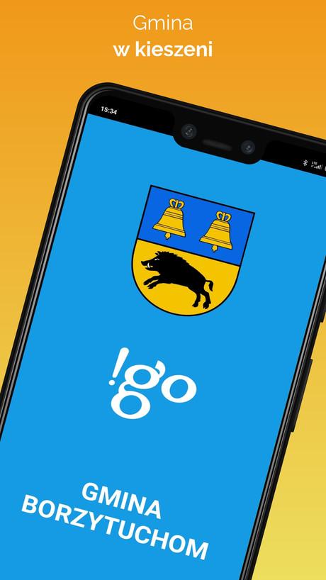 !go Gmina Borzytuchom  - Aplikacja mobilna